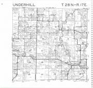 Underhill T28N-R17E, Oconto County 1987